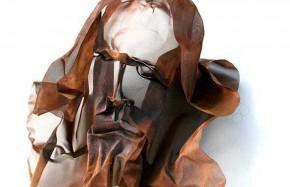 copper mesh face