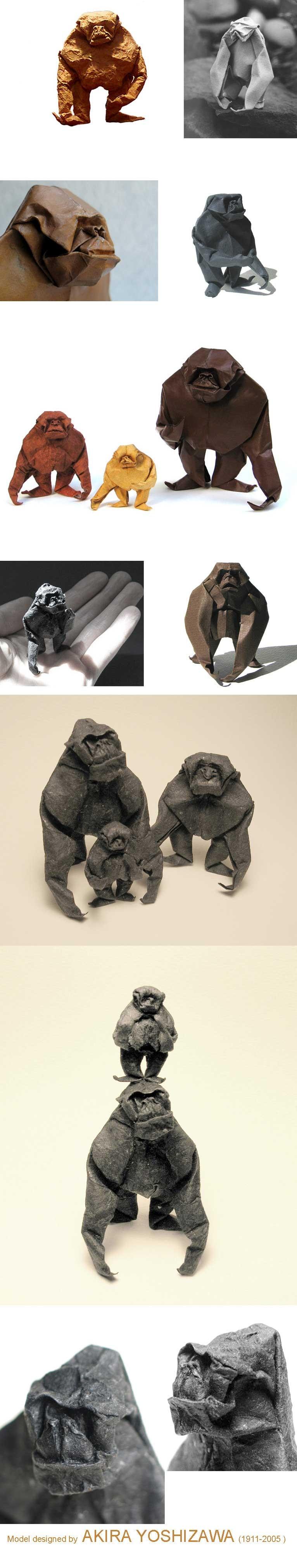 AkiraYoshizawa-Gorillas